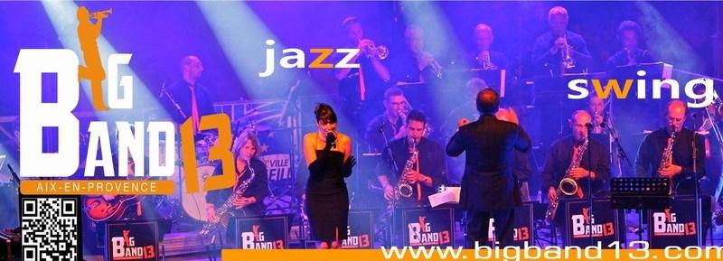 Big Band 13 & Alexandra Martinez: 10 Ans de Swing En Feu d'Artifice