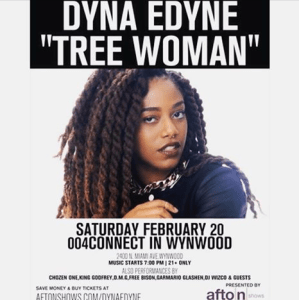Dyna Edyne Tree WOman Live 3
