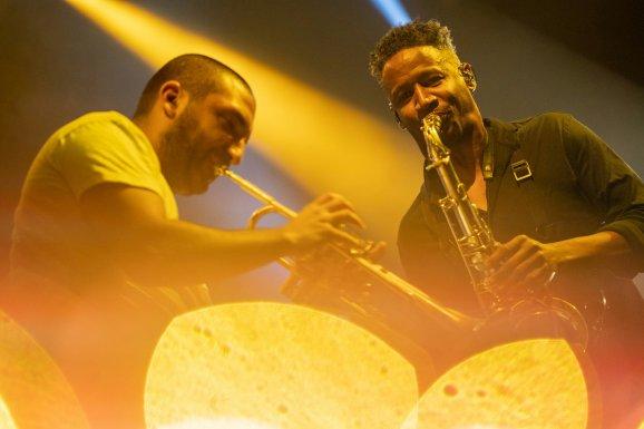Ibrahim Maalouf - Le Trompettiste A Fait Son Carnaval à la Halle Tony Garnier - Jazz à Vienne 19/20 1