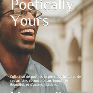 Recueil de poèmes Poetically Yours