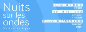 Affiche Festival Nuits Sur Les Ondes chaponost