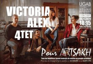 Mélanie Domergue Victoria Alex Quartet
