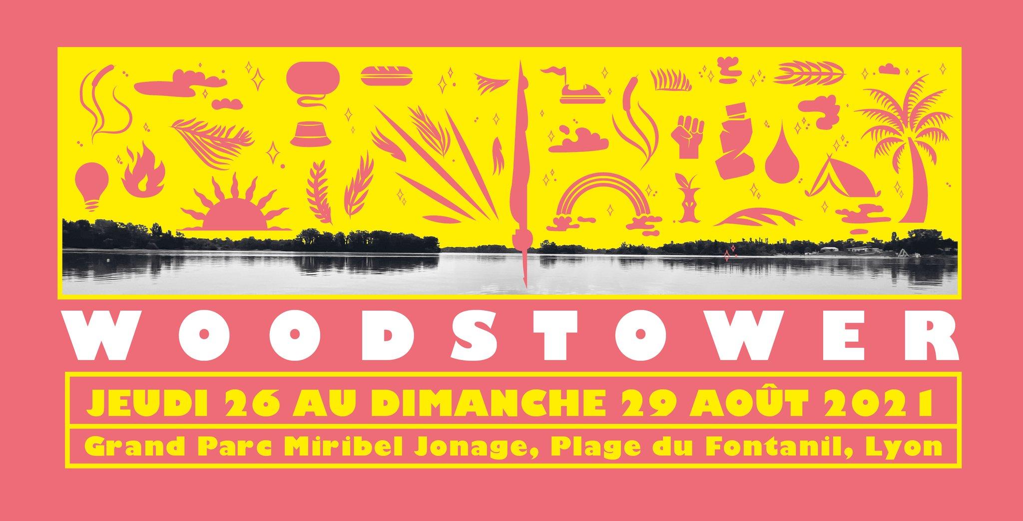 Le Festival Woodstower vous donne rendez-vous cet été du jeudi 26 au dimanche 29 août 2021