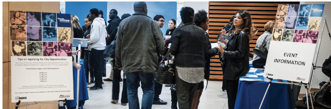 City of Toronto Job Fair coming up on October 18