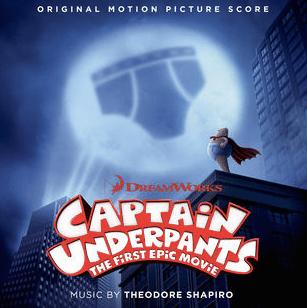 Captain Underpants film score