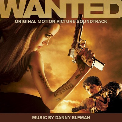 Wanted (Original Motion Picture Soundtrack) score by Danny Elfman on Lakeshore Records.