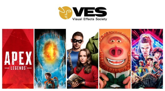 VES Awards: Stranger Things, Lost In Space, Missing Link, The Umbrella Academy + Apex Legends Nab Nominations!