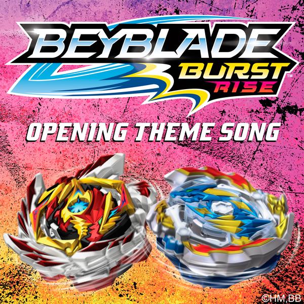 Beyblade Burst: Rise (Opening Theme) - Jonathan Young   Lakeshore Records