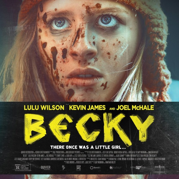 Becky Movie Poster - Lulu Wilson and Kevin James