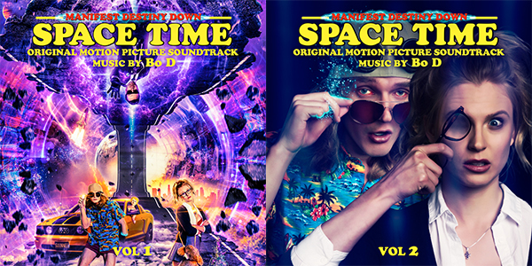 Manifest Destiny Down: Spacetime Vol. 1 & Vol. 2 - Bo D | Lakeshore Records