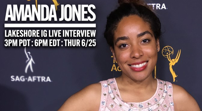 Join Composer Amanda Jones on Instagram Live in Conversation With Lakeshore Records!