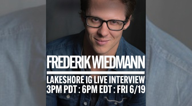 Join Freddie Wiedmann on Instagram Live in Conversation With Lakeshore Records!