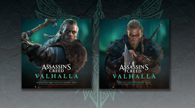 Assassin's Creed Valhalla Remix Singles By Koda and 2WEI Taken From The Trailer – Out Now
