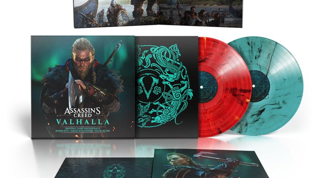 Assassin's Creed Vahalla Original Game Soundtrack Vinyl | Lakeshore Records, Ubisoft Music