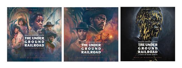 Underground Railroad Volume 1, Volume 2, Volume 3
