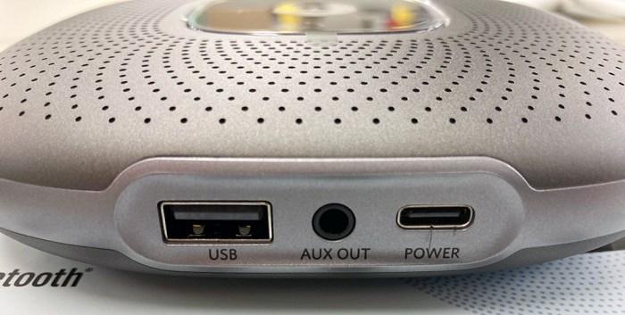 Anker PowerConf 端子
