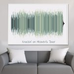 5 Reasons You Should Get a Sound Wave Picture Art For Your Next Gift