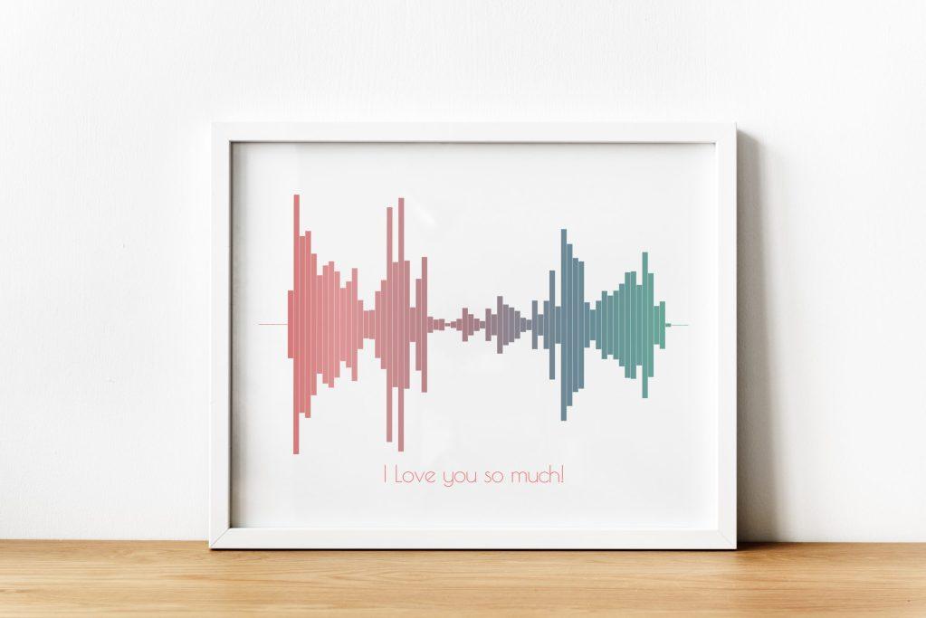 Make soundwave art