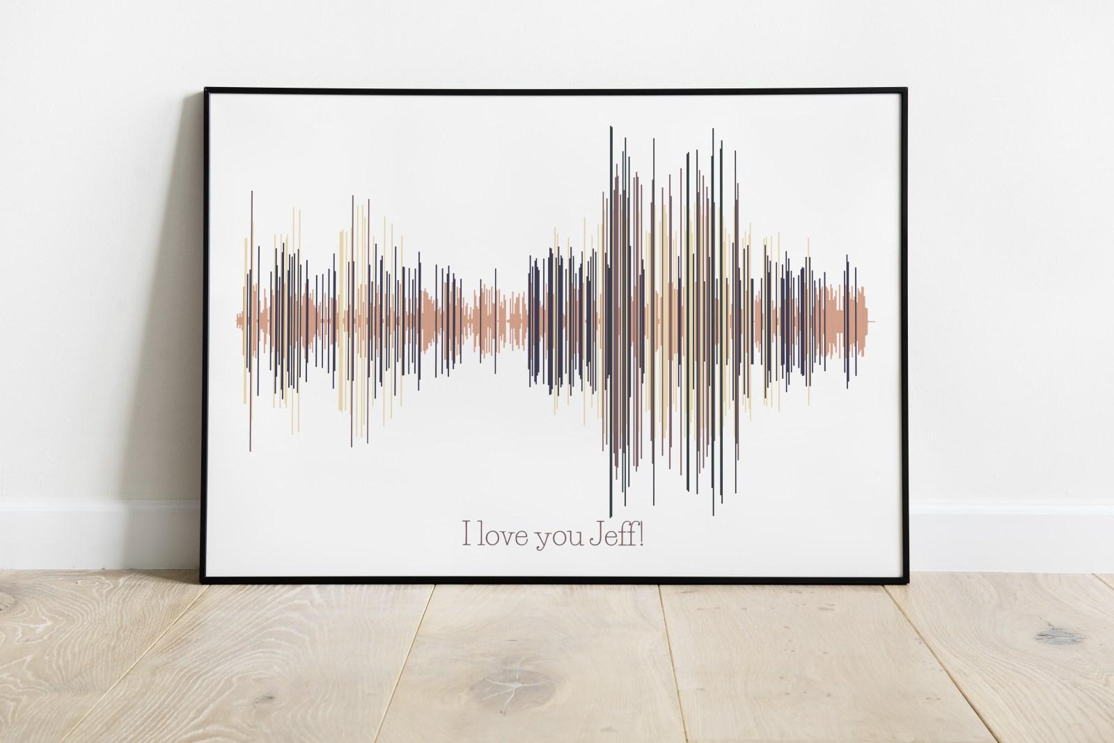 Voice art - Sound Wave