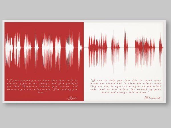 Wedding Vows Soundwave with Lyrics