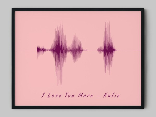 I Love You More Soundwave Art