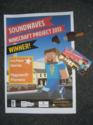 USB stick for 2nd prizes
