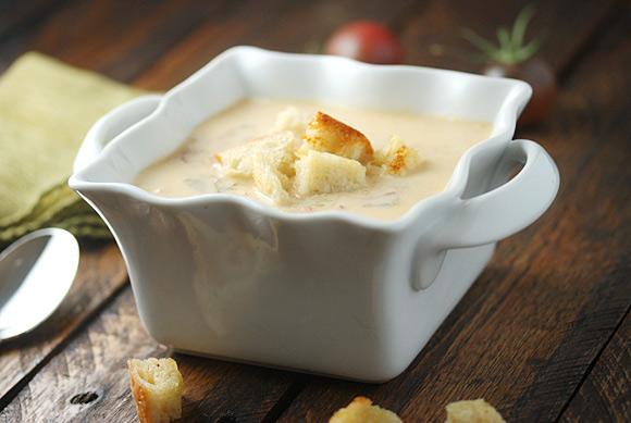 BLT Soup in a bowl
