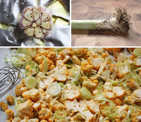 Roasted Cauliflower Squash Soup 2