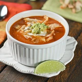 Tomato Guacamole Soup 1
