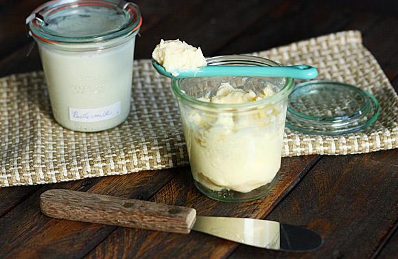 Cultured butter and cultured buttermilk 4
