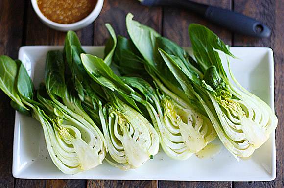 Grilled Baby Bok Choy 2