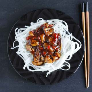 Thai Chicken with Rice Noodle