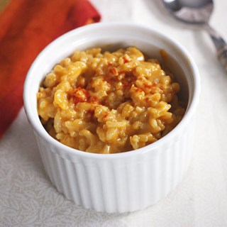 Cheddar Risotto with Paprika 1