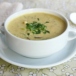 Tom Kha Gai (Thai Chicken Ginger Soup)