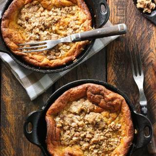 Pumpkin Pie Dutch Babies | SoupAddict.com