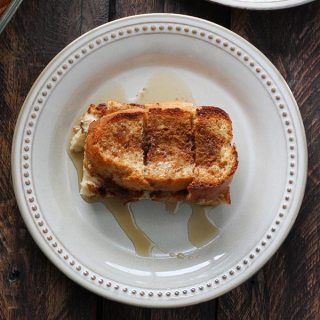 Cinnamon Eggnog Baked French Toast from SoupAddict.com