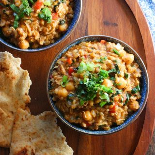 Thai Fusion Chickpea Stew | SoupAddict.com