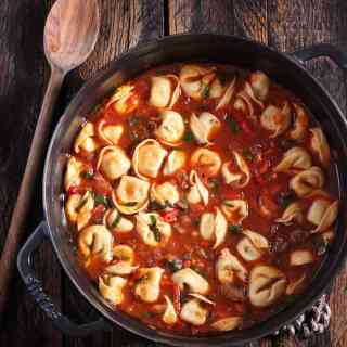 Italian Tortellini Soup   SoupAddict.com