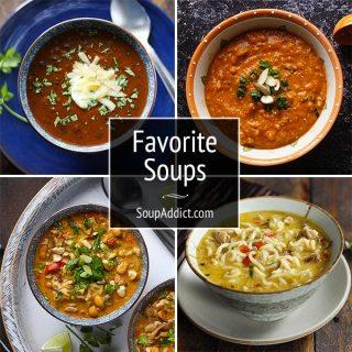 Favorite Soups from Soupaddict.com