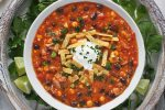 Chicken Enchilada Soup | SoupAddict.com