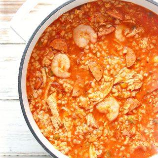 Fat Tuesday Jambalaya Soup | SoupAddict.com