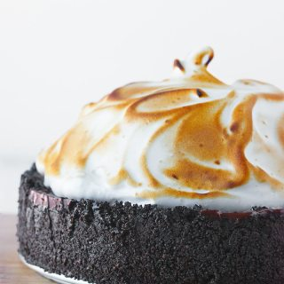 No Bake Chocolate Creme Pie   SoupAddict.com