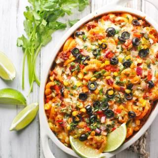 Mexican Pasta Bake | SoupAddict.com