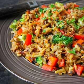 Sweet Potato Fried Rice Stir Fry from SoupAddict.com