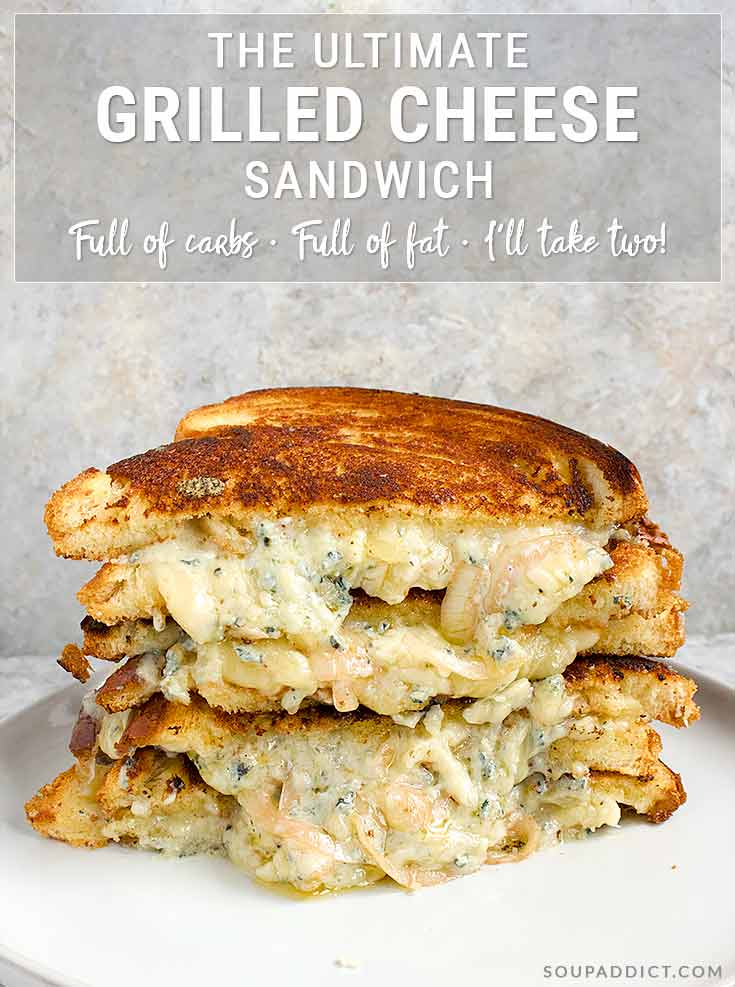 Ultimate Grilled Cheese Sandwich - Recipe at SoupAddict.com
