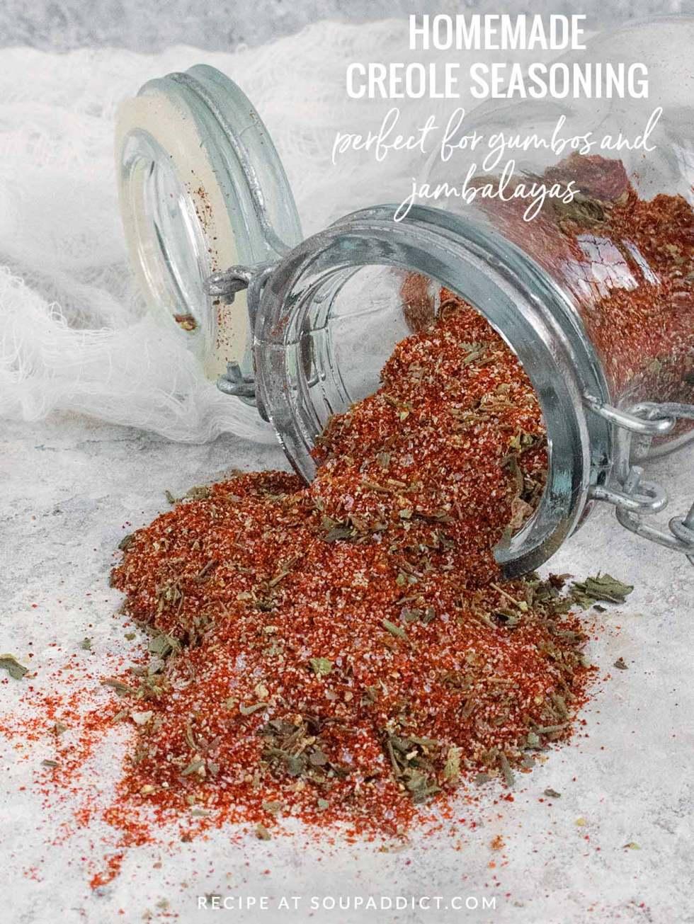 Creole Seasoning Spice Blend - Recipe at SoupAddict.com