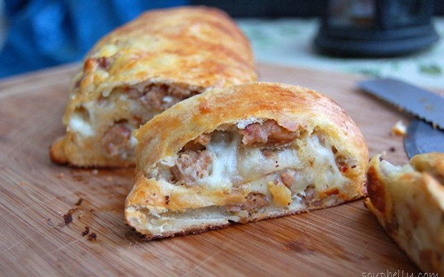 Pizza Week – Day 3 – Sausage Bread