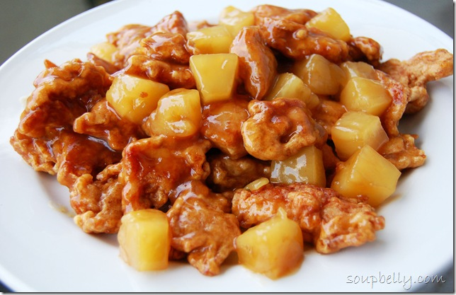 Chinese Pineapple Chicken