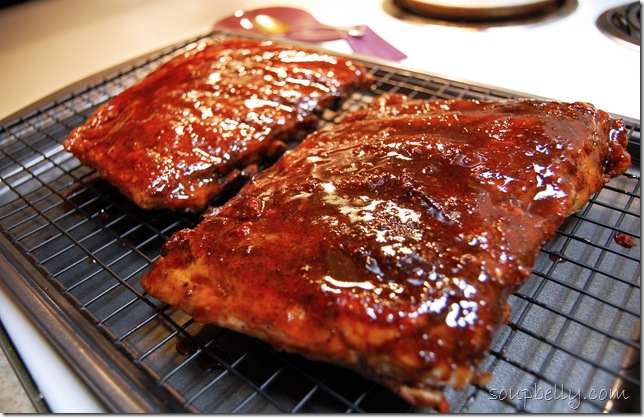 Dry Rub Oven Baked Pork Ribs - Soupbelly