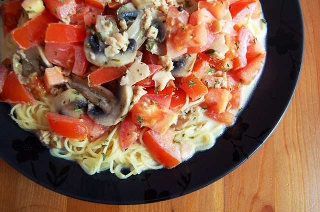 Pasta with Clam Sauce